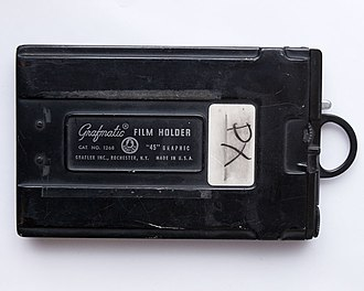 "Film holder - Grafmatic ""45"" Film Holder."