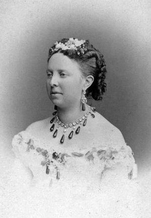 Duchess Alexandra Petrovna of Oldenburg - Image: Grand Duchess Anastasia Petrovna of Russia