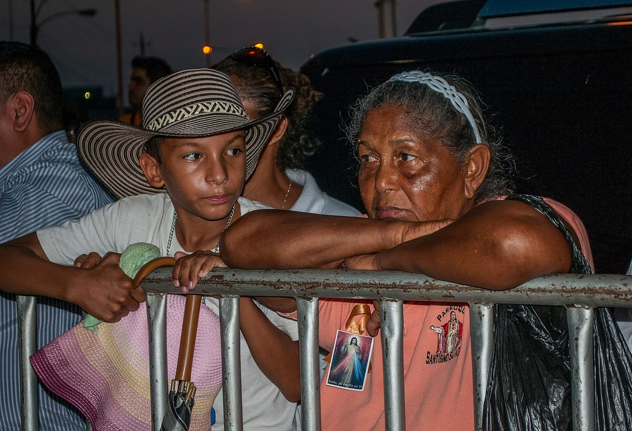 Grandma dating her grandson