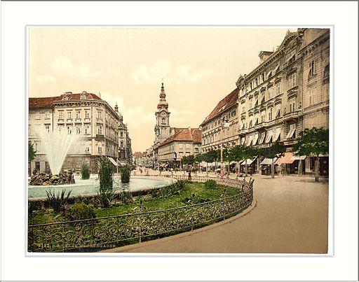 Graz Herrengasse Styria Austro-Hungary