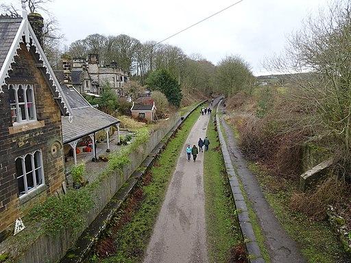 Great Longstone railway station (site), Derbyshire (geograph 5666583)