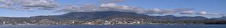 Hobart - Hobart area from Bellerive