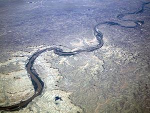 Green River aerial photo, Utah