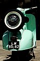 Green Vespa rear, Viseu, Portugal.jpg