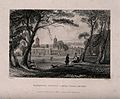 Greenwich, viewed from the Park, with people in the foregrou Wellcome V0013328.jpg