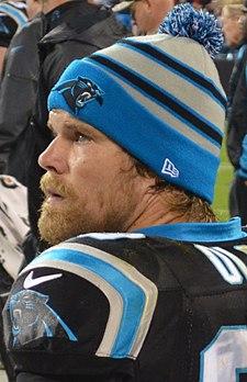 refer to caption. Olsen with the Carolina Panthers ... abe29c03b772