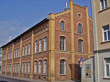 Ehemaliges Industriegebäude aus der Gründerzeit  der Firma Hagen