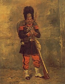 Imperial Guard (Napoleon III) military corps in the French Army formed by Napoleon III