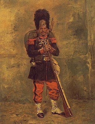 Imperial Guard (Napoleon III) - Grenadier of the Imperial Guard of Napoleon III