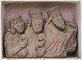 Griffen Stift Kreuzgang Sandsteinrelief Hl Drei Koenige 17052016 3159.jpg