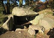 Großsteingrab Lancken 1 - Lancken-Granitz, Insel Rügen