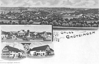 Aichtal - In 1885