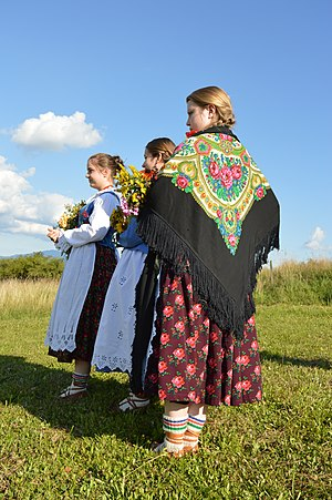 Grojcowianie folk music group, traditional dresses 7.jpg