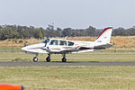Grumman American GA-7 Cougar (VH-OMG) taxiing at Temora Airport.jpg