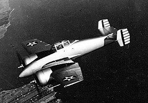 "Grumman XP-50 - Grumman XP-50 ""Skyrocket"""