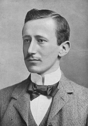 English: Guglielmo Marconi about 1902. Deutsch...