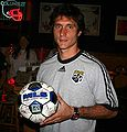 "Guillermo Schelotto attending a ""meet the crew"" event in Columbus"