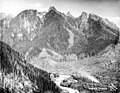 Gunn's Peak from Lookout Point, ca 1924 (PICKETT 381).jpg