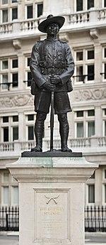 Gurkha Soldier Monument, London - April 2008