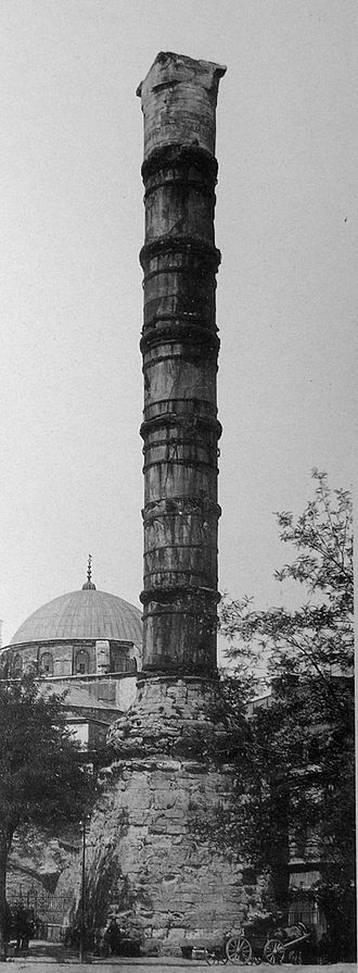 Column of Constantine - The Column of Constantine in 1912