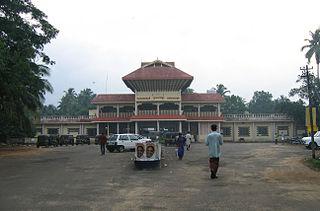 Guruvayur railway station Railway station in Kerala, India
