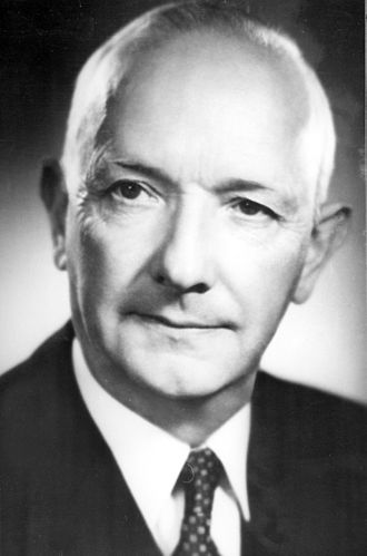 Gustaf Larson - Gustav Larson at Volvo AB (1950s).