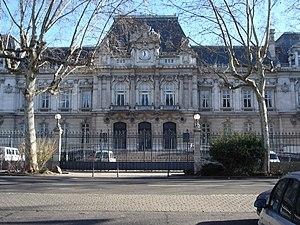 Rhône (department) - Prefecture building of the Rhône department, in Lyon