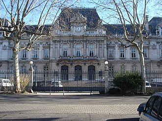 Rhône (department) - Prefecture building of the Rhône department, in Lyon