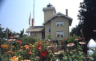 Hereford Inlet Light lighthouse in New Jersey, United States