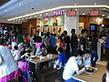 HK Causeway Bay Hysan Place 11th floor Kitchen Eleven food court interior visitors Aug-2012.JPG