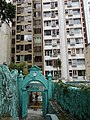 HK Central 些利街 Shelley Street 回教清真禮拜總堂 Jamia Mosque view Shelley Court Mar-2016 DSC.JPG