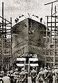 HL Damals – Taufakt der Lübeck – Schiffswerft von Henry Koch – Lübeck-Linie.jpg