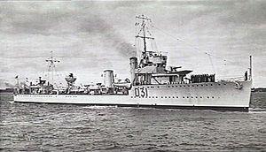 HMAS Voyager (AWM 301643)