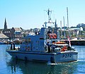 HMS 'Smiter' arriving at Bangor - geograph.org.uk - 585307.jpg