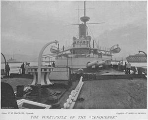 HMS Conqueror Forecastle Guns.jpg
