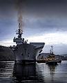 HMS Illustrious on Loch Long, Scotland MOD 45153591.jpg