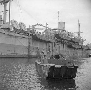 Landing ship, infantry - Image: HMS Rocksand (F184)