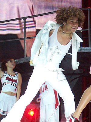 Corbin Bleu - Bleu performing during High School Musical: The Concert in 2006