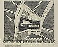 HUA-214673-Plattegrond van de bouwvlek met contouren van het stadhuis aan de Stadhuisbrug te Utrecht na verbouwing met weergave van de aangrenzende straten NB Be.jpg