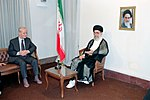 Hafez al-Assad visit to Iran, 1 August 1997 (9).jpg