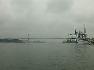 Port of Xiamen Port in Peoples Republic of China