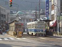十字街停留場 - Wikipedia