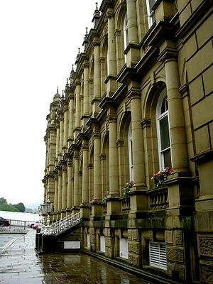 Halifax Town Hall - West elevation