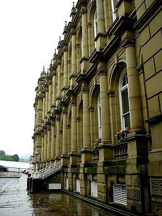 Halifax Town Hall - West elevation