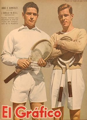 Don McNeill (tennis) - Image: Hammersley and Mc Neill
