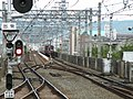 Hankyu Ibarakishi Station platform - panoramio (18).jpg