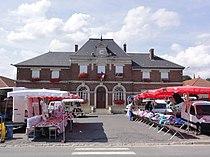 Hargicourt (Aisne) mairie.JPG