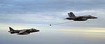 Harrier-Hornet air refueling maneuvers DVIDS91313.jpg