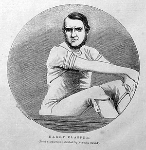 Harry Clasper - Clasper in 1862
