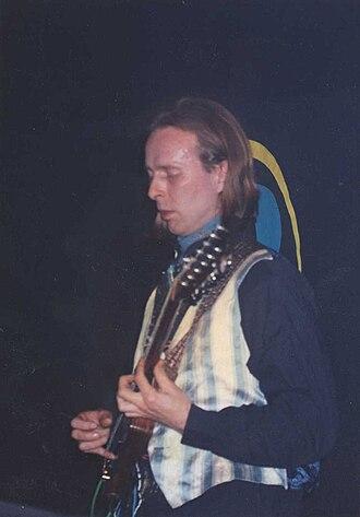 Harry Williamson (musician) - Image: Harry Williamson on tour 1991